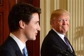 Acier et aluminium : nouvel entretien entre Justin Trudeau et Donald Trump