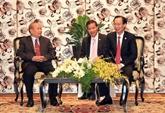 Un dirigeant de Hô Chi Minh-Ville reçoit le ministre cambodgien des Cultes et des Religions