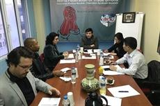 Une délégation vietnamienne travaille avec la Fédération syndicale mondiale