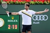 Federer laisse passer lorage à Indian Wells