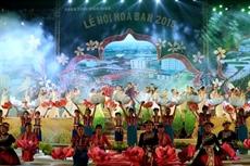 Ouverture de la fête de la fleur de bauhinie 2018 à Diên Biên