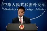 La Chine dépose des représentations auprès des États-Unis à propos de Taïwan Travel Act