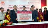 Agribank accorde un milliard de dôngs pour Festival de Huê 2018