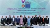 Le FTA entre l'ASEAN et l'UE devrait être approuvé d'ici la fin de l'année