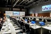 Ouverture de la réunion ministérielle du G20 à Buenos Aires