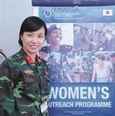 La première Vietnamienne participant aux opérations de maintien de la paix de l'ONU