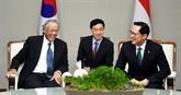 République de Corée et Singapour coopèrent pour résoudre des questions sur la sécurité