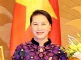 La présidente de lAN, Nguyên Thi Kim Ngân, participera à lUIP-138 et visitera aux Pays-Bas