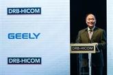 Le groupe automobile chinois Geely double son bénéfice en 2017
