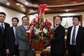 Le Vietnam félicite le Parti populaire révolutionnaire du Laos