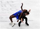 Patinage : premier podium mondial pour le couple James-Ciprès, en bronze