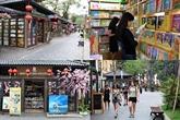 Un espace dédié à la lecture au centre de Hanoï