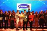 Les meilleurs lieux de travail au Vietnam en 2017 : Vinamilk numéro 1