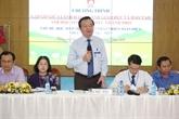 Hô Chi Minh-Ville : les responsables de l'éducation à la rencontre des élèves
