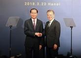 Le président sud-coréen termine sa visite d'État au Vietnam