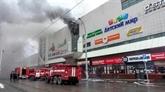 Russie : au moins 37 morts dans l'incendie d'un centre commercial en Sibérie