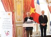 Belles perspectives des relations vietnamo-françaises
