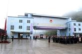 Ouverture officielle de la porte frontalière de Xin Mân - Wenshan