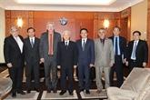 Le secrétaire général du PCV rencontre des entreprises françaises
