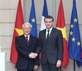 Le chef du PCV et le président français affirment une nouvelle dynamique aux liens