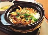 Wok de crevettes au piment