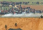 L'armée israélienne tire sur des Palestiniens s'approchant de la barrière de sécurité, et frappe les sites du Hamas