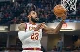 NBA : un record de plus pour LeBron James, une chance de moins pour les Clippers