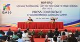 Conférence de presse sur GMS-6 à Hanoï