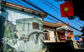 Quang Binh : à la découverte des peintures murales du village de Canh Duong