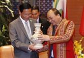 Vietnam-Myanmar : Nguyên Xuân Phuc reçoit le vice-présidentnbspU Henry Van Thio