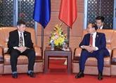 Le chef du gouvernement vietnamien reçoit le secrétaire général de lASEAN