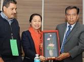 Le Vietnam au Congrès de la Fédération internationale syndicale de lenseignement