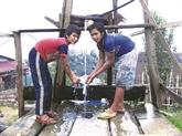 Le Têt de la gouttière d'eau des Xê Dang
