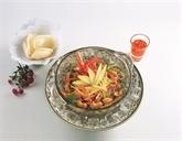 Cuisine végétarienne au Co Nôi Vegetarian