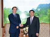 Asie-Pacifique : le directeur régional du Forum économique mondial reçu à Hanoï
