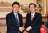 Resserrer la coopération entre Hô Chi Minh-Ville et Gyeongsangbuk