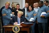 Trump impose des taxes sur l'acier et l'aluminium