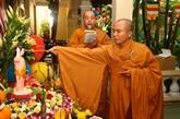 Célébration du Nouvel An traditionnel des pays d'Asie du Sud-Est à Hô Chi Minh-Ville