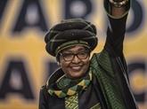 L'Afrique du Sud célèbre à nouveau