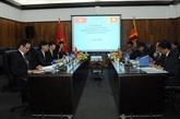 Le Vietnam et le Sri Lanka organisent leurs 3es consultations politiques