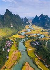 Le parc géologique de Cao Bang reconnu comme un géoparc mondial