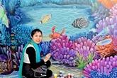 Une peintre vietnamienne remporte le Trophée d'Argent à un concours de design en Italie