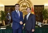 Vietnam - Turkménistan : consultation politique entre les ministères des Affaires étrangères