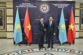 Le ministre de la Police en visite de travail au Kazakhstan