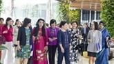 Des femmes diplomates étrangères découvrent la beauté de Vinh Phuc