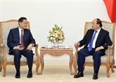 Le Premier ministre reçoit le président de la région autonome Zhuang du Guangxi