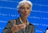 Christine Lagarde appelle à régler le contentieux commercial via des institutions multilatérales