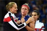 Fed Cup: clap de fin pour les Bleues et Noah