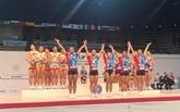 Coupe du monde de gymnastique Aérobic Suzuki 2018: neuf médailles pour le Vietnam