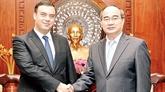 L'ambassadeur d'Israël reçu à Hô Chi Minh-Ville